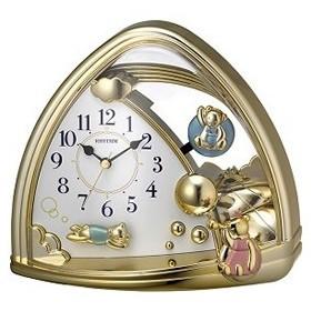 4SG762SR18 リズム時計工業 置時計 ファンタジーランド762SR