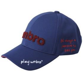 UMBRO(アンブロ)スポーツアクセサリー 帽子 デザインキャップ UJA2541 F NVY