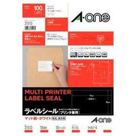 A-one 31513 (マルチプリンタラベル/A4判/10面/名刺サイズ)