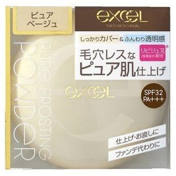 エクセル ピュアフロスティングパウダー PF01 ピュアベージュ ( 1コ入 )/ エクセル(excel)