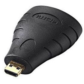 サンワサプライ AD-HD09MC(HDMI・マイクロHDMI変換アダプター/HDMIメス:マイクロHDMIオス)