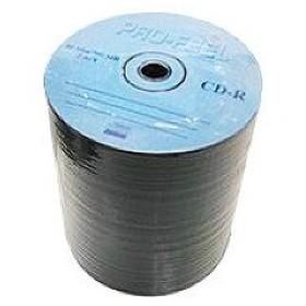 PRO-FEEL CD-R データ用 700MB 52倍速対応 メーカーロゴレーベル(印刷不可) ( 100枚入 )