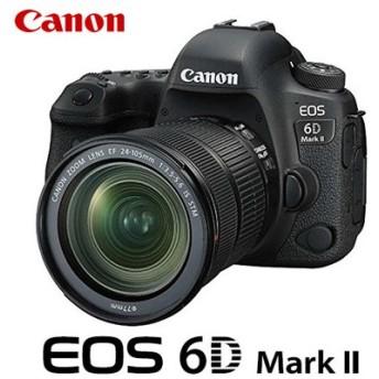キヤノン デジタル一眼レフカメラ EOS 6D Mark II 24-105 IS STM レンズキット EOS6DMK2-24105ISSTM CANON