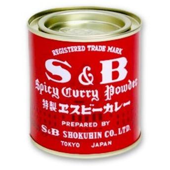 S&B 赤缶 カレー粉 84g ヱスビー食品 S&Bスパイス