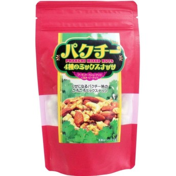 パクチー4種のミックスナッツ 80g 単品1個