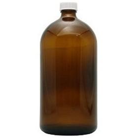フレーバーライフ 遮光瓶 茶 ドロッパーなし 1000mL ( 1コ入 )