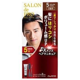 サロンドプロ EX メンズヘアマニキュア 5 ナチュラルブラウン