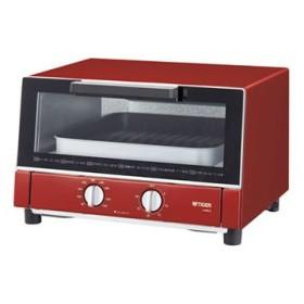 KAM-G130-R タイガー オーブントースター やきたて (レッド)