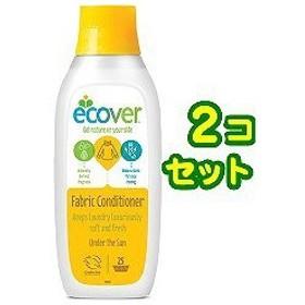 エコベール ファブリックソフナー サン ( 750mL2コセット )/ エコベール(ECOVER) ( 柔軟剤 )