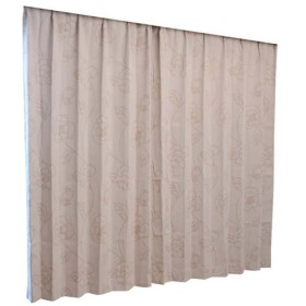 Haruka・Style(ハルカ・スタイル) 1級遮光カーテン2枚組 グラシア 幅100×丈100cm ベージュ