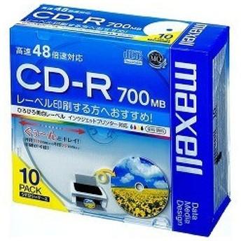 マクセル データ用CD-R 700MB ( 10枚 )/ マクセル(maxell)