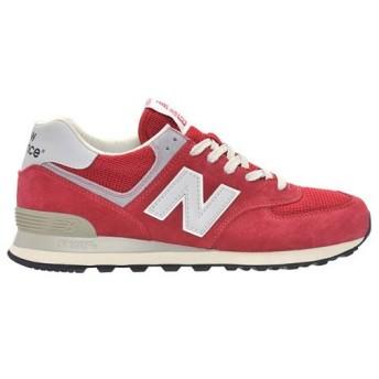 (セール)New Balance(ニューバランス)シューズ カジュアル ML574DRD ML574DRD D メンズ RED