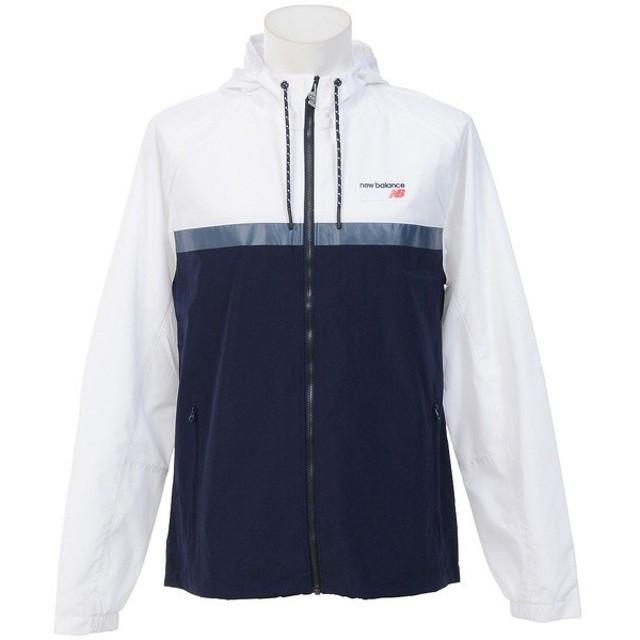 (セール)New Balance(ニューバランス)メンズスポーツウェア ジャケット NBアスレチックス78ジャケット AMJ73557WT メンズ ホワイト
