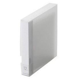 エレコム BLu-ray/DVD/CD用ディスクファイル 12枚収納 CCD-FB12CR ( 1コ入 )/ エレコム(ELECOM)