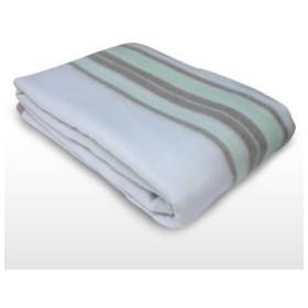 EM-706M TEKNOS テクノス 190×130cm 電気毛布 洗える掛け敷き毛布 (グリーン系)