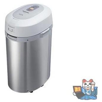 Panasonic(パナソニック) 家庭用生ゴミ処理機 MS-N53-S(シルバー) 屋内外タイプ 温風乾燥方式 【リサイクラー】