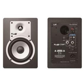 FLUIDAUDIO 【Fluid Audio】ブルートゥース対応パワードモニタースピーカー(2本/ブラック) CLASSIC SERIES C5BT