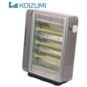 電気ストーブ グレー KEH-0970H コイズミ (D)