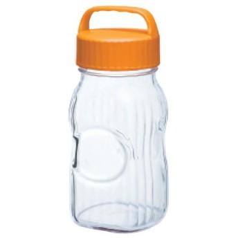 漬け上手フルーツシロップびん 保存容器・調味料 ポット(オレンジ) 幅114×奥行100×高さ252(mm) 2入/プロ用/新品