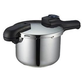 パール金属 クイックエコ 3層底切り替え式圧力鍋(4.5L) H-5041