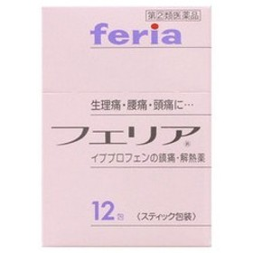 《武田薬品》 フェリア 12包 【指定第2類医薬品】 (解熱鎮痛薬)