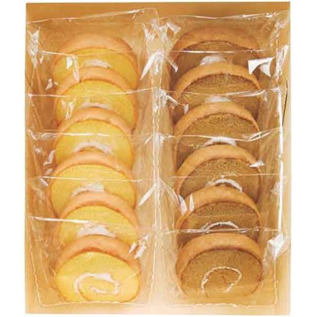 津具屋 信州たまごを使ったたまごロールケーキ 12個入