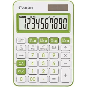 キヤノン カラー電卓 LS−105WUC−GR グリーン