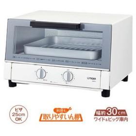 【納期目安:2週間】タイガー KAM-H130-W オーブントースター〈やきたて〉 (KAMH130W)