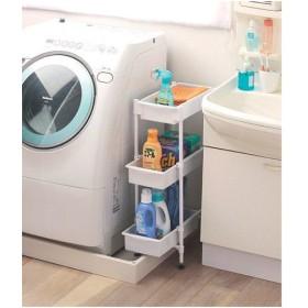 ランドリーラック 隙間収納 収納 スリム サイドラック 3段 SDR-3 洗濯機ラック 棚 アイリスオーヤマ