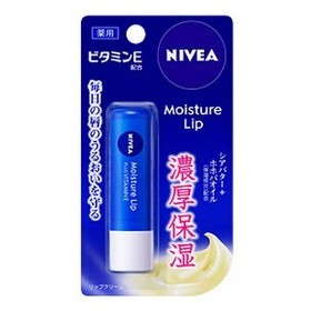 《花王》 ニベア モイスチャーリップ ビタミンE 3.9g (リップクリーム) 【医薬部外品】