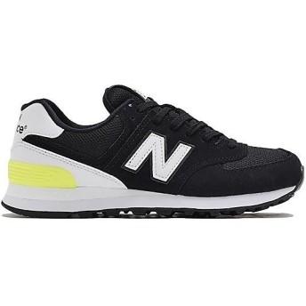 (セール)New Balance(ニューバランス)シューズ カジュアル WL574CNAB WL574CNAB レディース BLACK/WHITE
