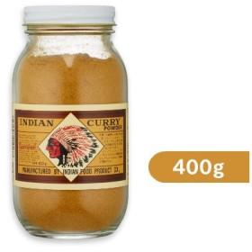 インデアン食品 純カレー粉 瓶 400g