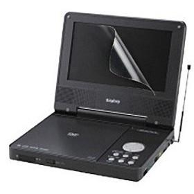 サンワサプライ LCD-DVD1(7.0型ワイドポータブルDVDプレーヤー対応液晶保護フィルム)