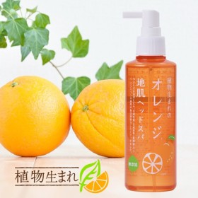 石澤研究所 180ml 植物生まれのオレンジ地肌ヘッドスパ