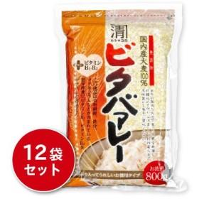 西田精麦 ビタバァレー 800g × 12袋