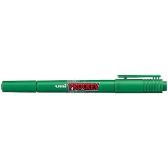 三菱鉛筆 水性マーカー プロッキー細・極細 緑