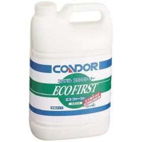 コンドル 床用洗剤 エコファースト4L(1個) CH52504LXMB 3597580