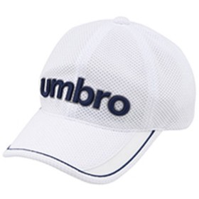 UMBRO(アンブロ)スポーツアクセサリー 帽子 JR.ベーシックはっ水キャップ UJS2700J WHT ジュニア F WHT