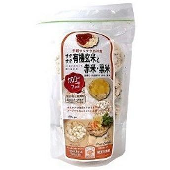 尾田川農園 サクサク有機玄米と赤米・黒米 ( 40g )/ 尾田川農園