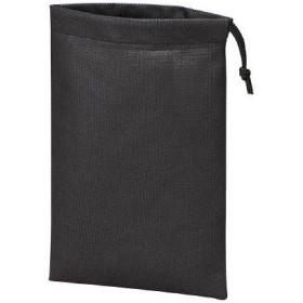 トラスコ中山 4989999312737 TRUSCO 不織布巾着袋 黒 260X180MM (10枚入)