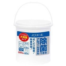 エリエール 除菌できるアルコールタオル 大容量 本体 ( 400枚入 )/ エリエール