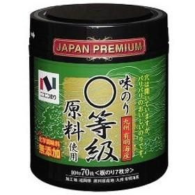 ニコニコのり 九州有明海産 まる等級原料使用 味のり ( 10切70枚入 )