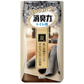 エステー 消臭力 トイレ用 炭と白檀の香り 400ml'※画像と異なるパッケージの場合がございます。ご了承下さいませ。