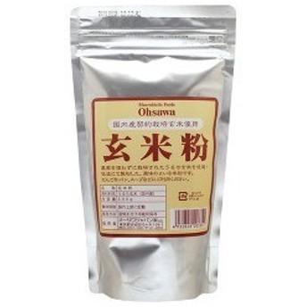 オーサワ 国内産契約栽培玄米使用 玄米粉 ( 300g )/ オーサワ