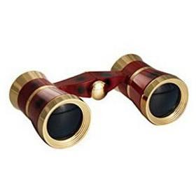 SAFARI(サファリ) 双眼鏡 SA-55FF 3×23mm オペラグラス ワインレッド