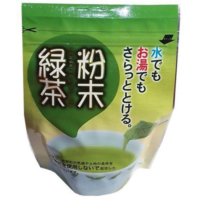 特別栽培 粉末緑茶 60g