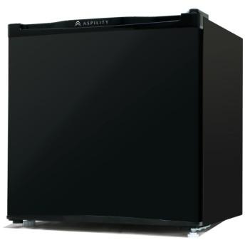 エスキュービズム 1ドア冷蔵庫 ブラック 46L WR-1046BK