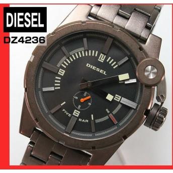 DIESEL ディーゼル アナログ メンズ 腕時計 クラウンプロテクター ブロンズ ブラウン系 DZ4236