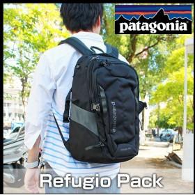 df11f99535e2 Patagonia パタゴニア Refugio 47911 海外モデル メンズ バッグ 28L デイパック バックパック リュックバック ブラック  アウトドア