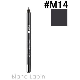 メイクアップフォーエバー MAKE UP FOR EVER アクアエクセル #M14 マットチャコールグレー 1.2g [096744]【メール便可】